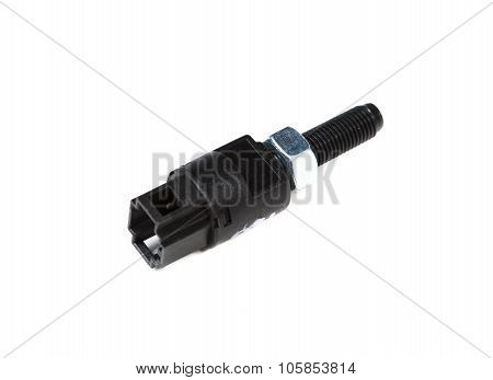 the automotive sensor isolated on white background