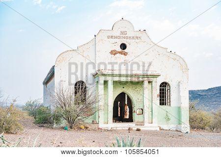 Ruin Of The Dutch Reformed Mission Church In Prieska