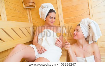 Celebrating Love At The Sauna