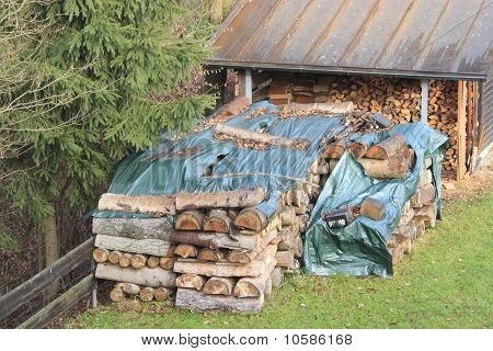 pile of woods