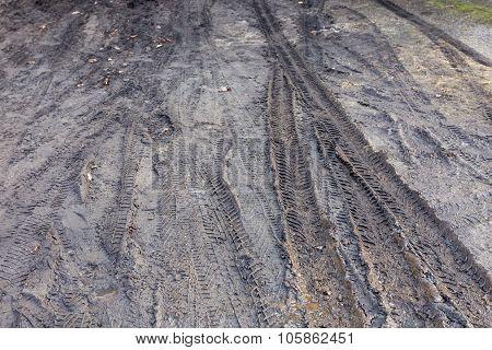 Mud Dirt Track Background