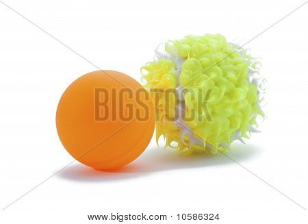 Pingpong And Tennis Balls