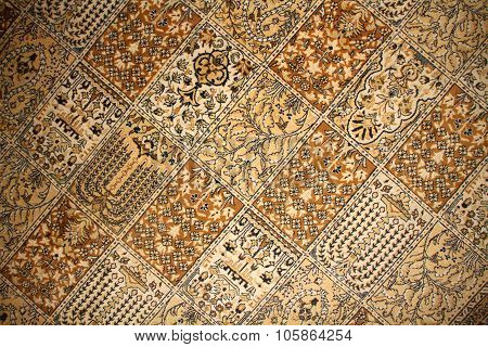 turkish carpet pattern