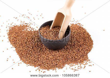 Buckwheat Groats In A Bowl