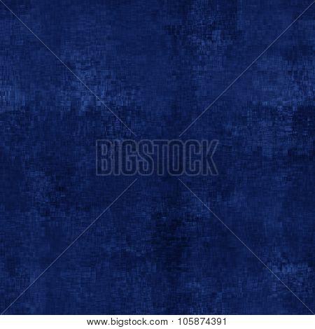 Blue Jumble Effect On Black Background