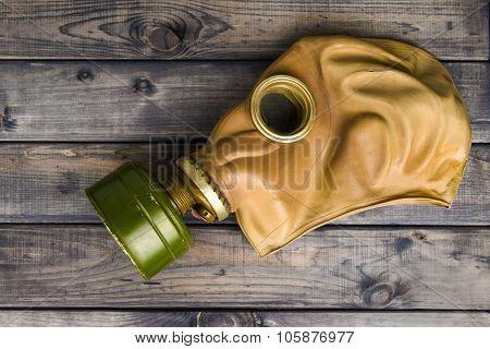 Vintage Green Mask