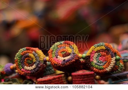 Colored Pompoms