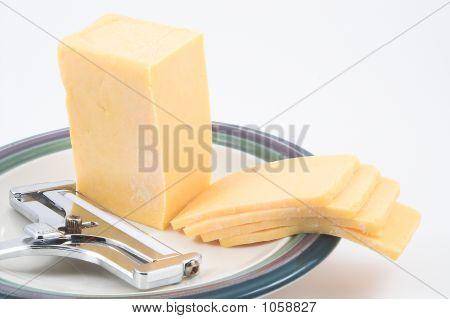 Cheddar-Käse & Slicer