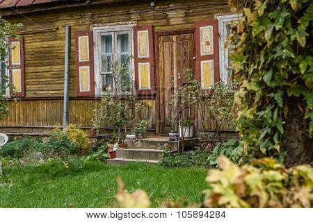 Rural House Door