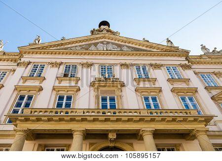 Bratislava City - Facade Of Primate's Palace