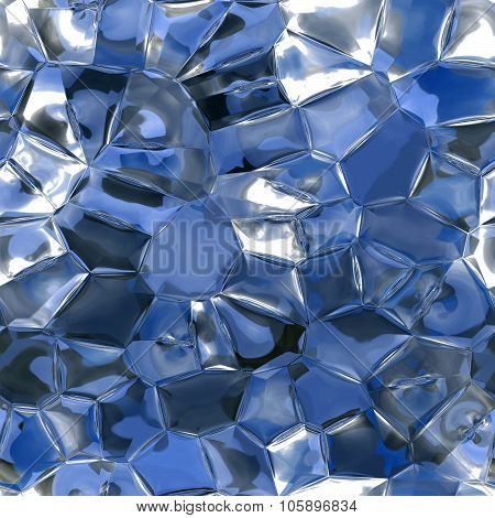 Crystal, Gem, Jewel Seamless and Tileable Background Texture.