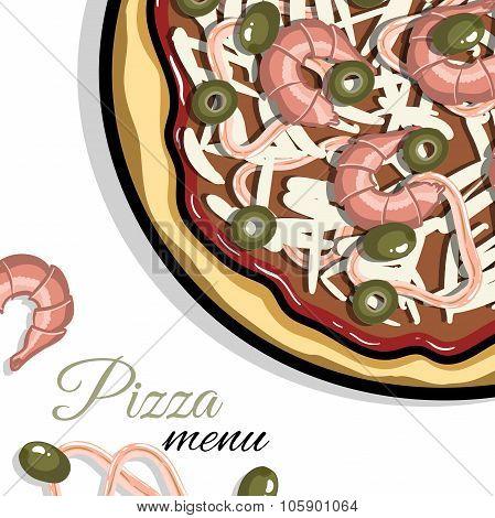 Menu For Pizzeria 1