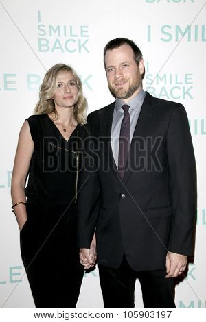 LOS ANGELES - OCT 21:  Sarah Salky, Adam Salky at the