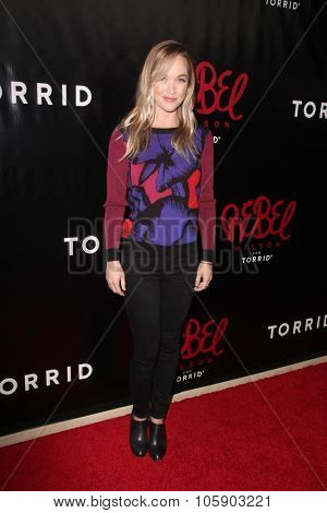 LOS ANGELES - OCT 22:  Kelley Jakle at the Rebel Wilson for Torrid Launch Party at the Milk Studios on October 22, 2015 in Los Angeles, CA