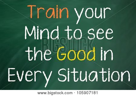 Train Your Mind to See...