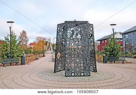 Porvoo. Finland. Diet of Porvoo Triptych
