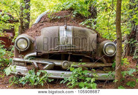 Loose Bumper On Old Pontiac