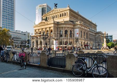 View Of Alte Oper