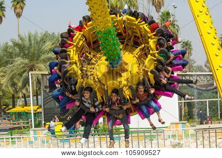 Iraqi Kids Playing