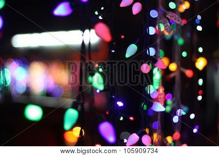 Colorful Festive Lights