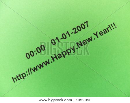 E - Wishes Happy New Year !!!