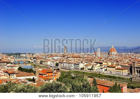 Florence Panoramic View, Tuscany, Italy