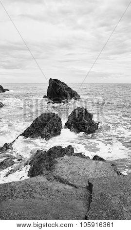 Coastline In Front Portovenere