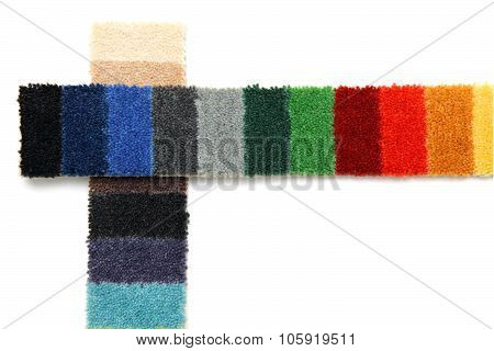 Samples Of Carpeting