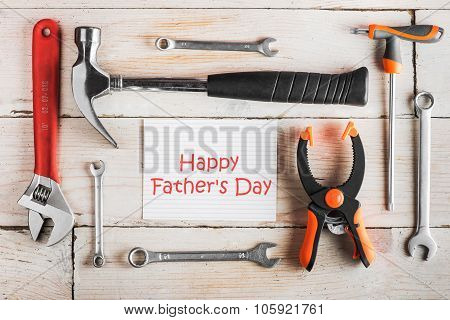 Carpentry Tools, Happy Fathers Day