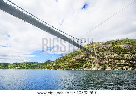 Lysefjord landscape. Norway.