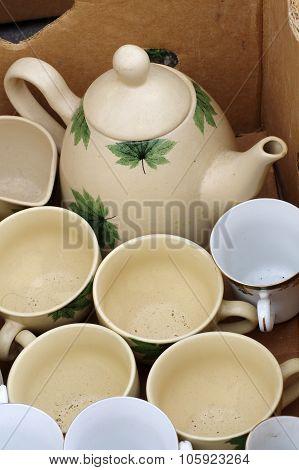 teapot flea market