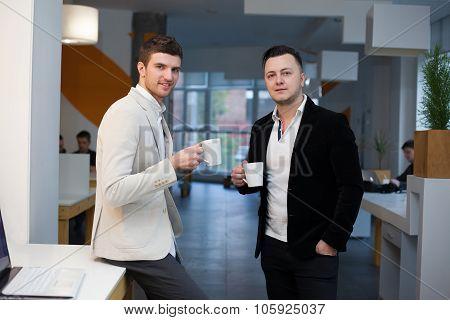 Coffee Break In Startup Center
