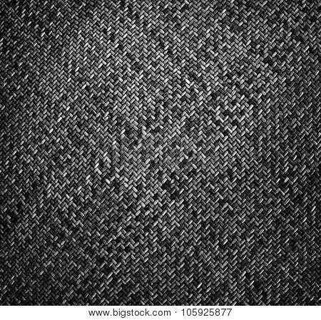 dark rattan texture background