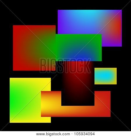 Abstract Color Pattern.