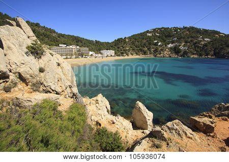 Cala De Sant Vicent, Ibiza Spain,eivissa