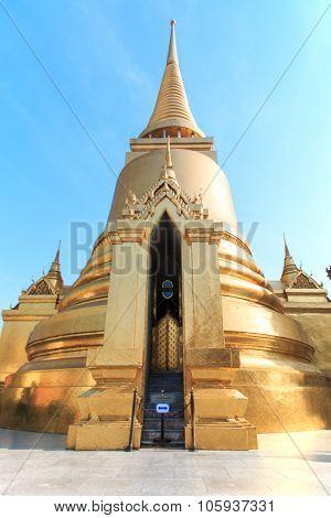 Thai Pagoda In The Royal Palace - Wat Phra Kaew, Thailand