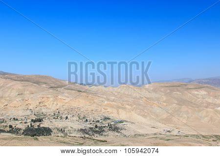 View Of Jordanian Desert