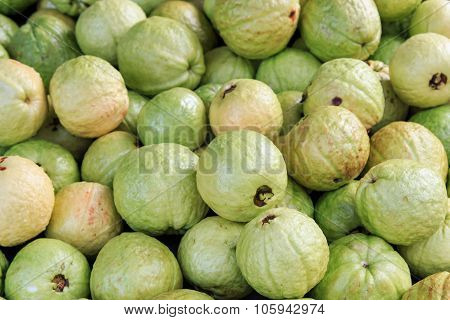 Guavas Fruit Background