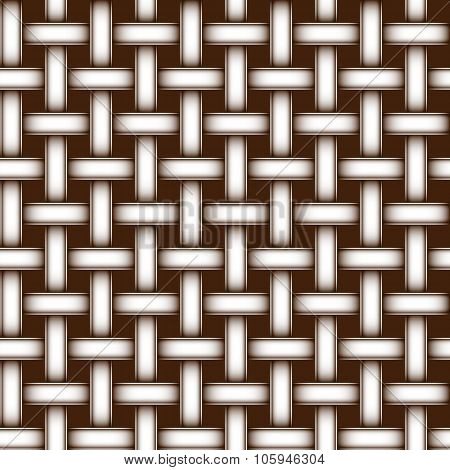 Seamless Texture Simulating Woven Fabric