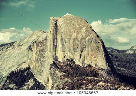 Half Dome in Yosemite National Park.