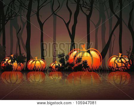 Pumpkin Night Lake