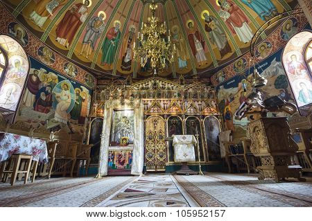 Interior Of Orthodox Chapel