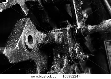 Part Of The Outdated Mechanism In Monochrome
