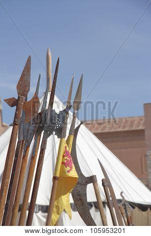 medieval spears