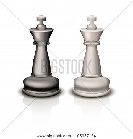 picture of chess kings