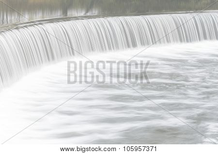 Waterfall Shot Photo By Slow Speed Shutter