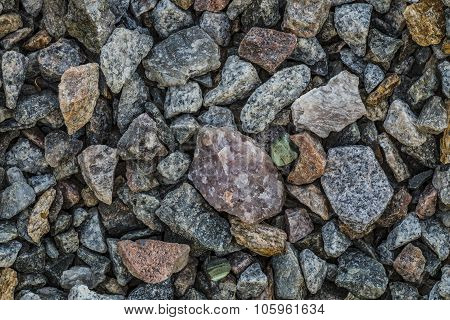 ?lean crushed stone gravel