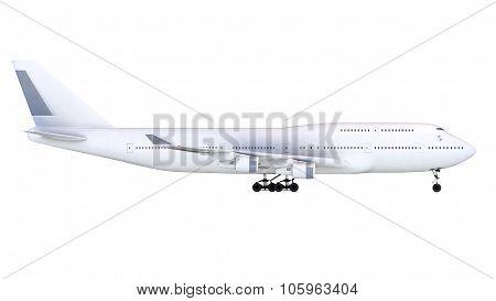 Boeing-747. Plane transport
