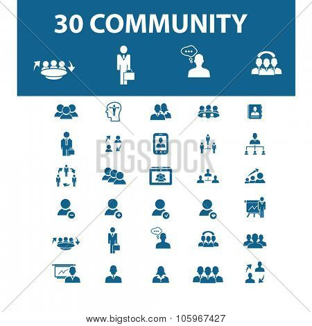 community, users icons