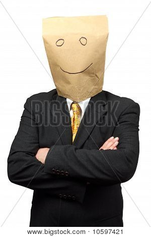 Businessman With A Paper-bag